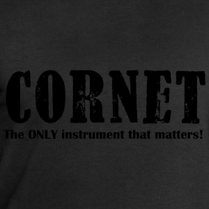 Cornet, The ONLY instrume T-Shirts - Men's Sweatshirt by Stanley & Stella
