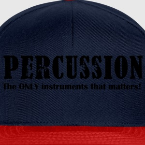 Percussion, The ONLY inst Shirts - Snapback Cap