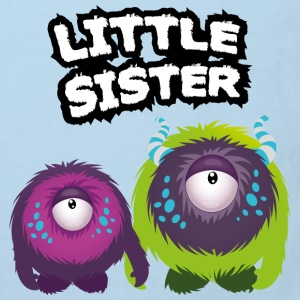 Little Sister Monster Skjorter - Økologisk T-skjorte for barn