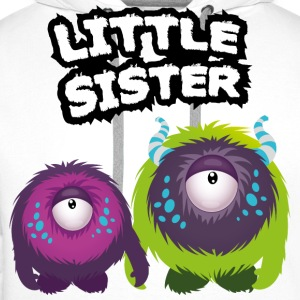 Little Sister Monster T-shirts - Premiumluvtröja herr