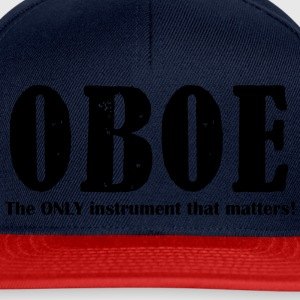 Oboe, The ONLY instrument T-Shirts - Snapback Cap