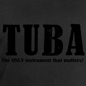 Tuba, The ONLY instrument Shirts - Men's Sweatshirt by Stanley & Stella