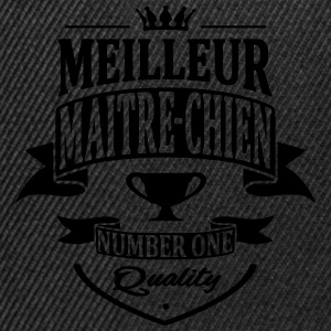 Maitre Chien Tee shirts - Casquette snapback