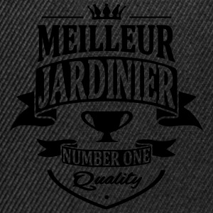 Jardinier Tee shirts - Casquette snapback