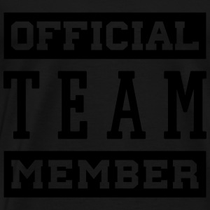 OFFICIAL TEAM MEMBER Tops - Männer Premium T-Shirt