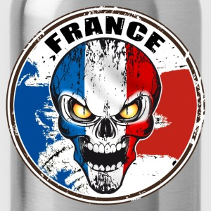 france skull Sweat-shirts - Gourde