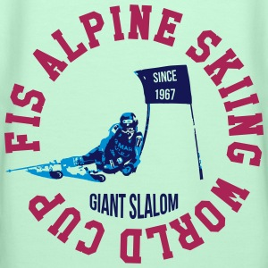 FIS ALPINE SKIING WORLD CUP - GIANT SLALOM T-Shirts - Frauen Premium Hoodie
