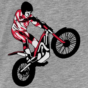 Trial Racing Sweat-shirts - T-shirt Premium Homme