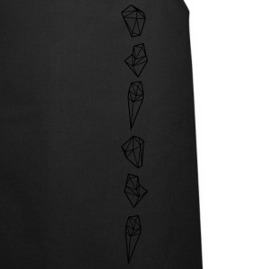 Crytal Triangles Diamonds T-Shirts - Kochschürze
