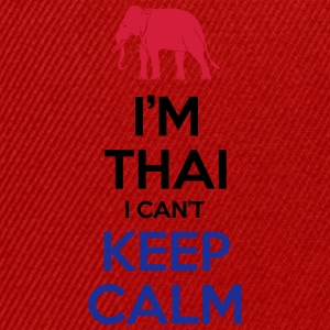 I'm Thai I Can't Keep Calm Tops - Snapback Cap