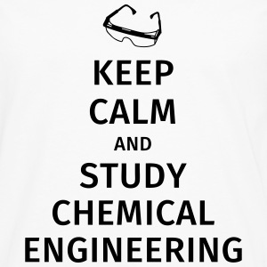 keep calm and study chemical engineering T-shirts - Mannen Premium shirt met lange mouwen