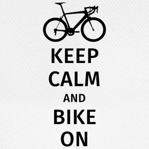 keep calm and bike on Tee shirts - Casquette classique