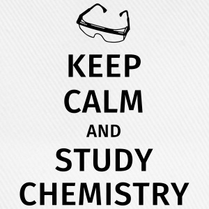 keep calm and study chemistry Tee shirts - Casquette classique