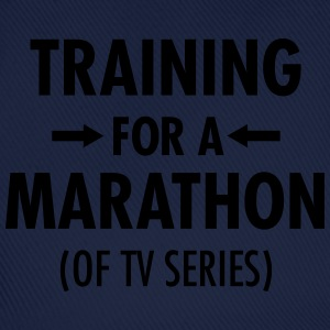Training For A Marathon (Of TV Series) T-shirts - Baseballkasket