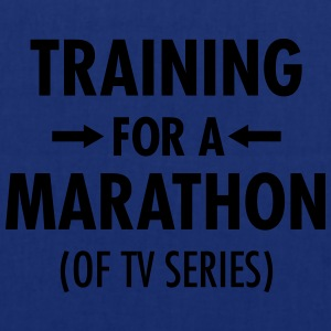 Training For A Marathon (Of TV Series) T-shirts - Mulepose