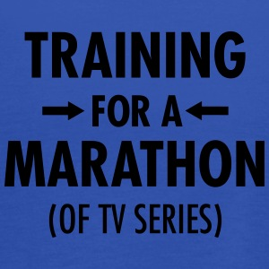 Training For A Marathon (Of TV Series) T-shirts - Dame tanktop fra Bella