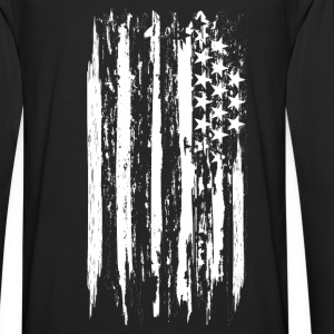 usa flag grunge style Sweat-shirts - T-shirt manches longues Premium Homme