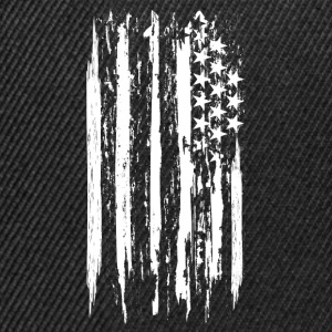 usa flag grunge style Tee shirts - Casquette snapback