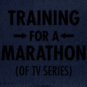 Training For A Marathon (Of TV Series) T-skjorter - Snapback-caps