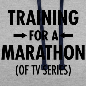 Training For A Marathon (Of TV Series) Tee shirts - Sweat-shirt contraste