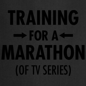 Training For A Marathon (Of TV Series) T-shirts - Keukenschort