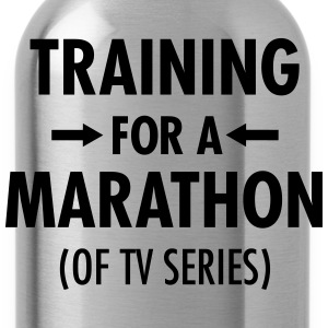 Training For A Marathon (Of TV Series) T-Shirts - Water Bottle