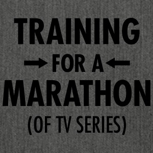Training For A Marathon (Of TV Series) T-shirts - Schoudertas van gerecycled materiaal