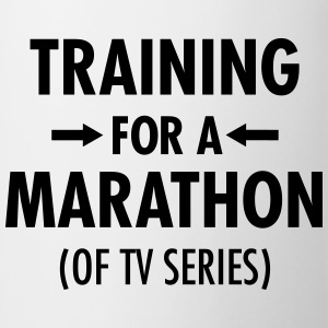 Training For A Marathon (Of TV Series) T-shirts - Kop/krus