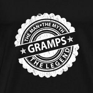 Gramps-The Man The Myth The Legend Mugs & Drinkware - Men's Premium T-Shirt
