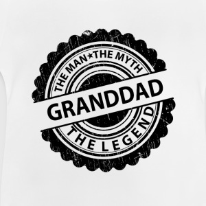 Granddad-The Man The Myth The Legend  Shirts - Baby T-Shirt