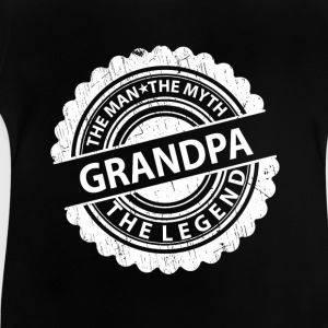 Grandpa-The Man The Myth The Legend Shirts - Baby T-Shirt