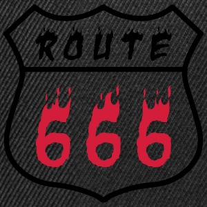 route 666 thin T-Shirts - Snapback Cap