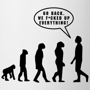 Evolution, f*cked up - Taza