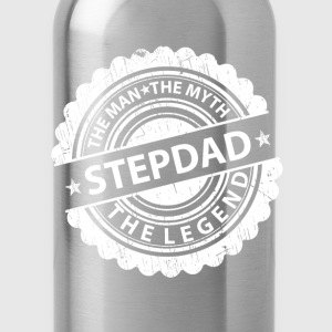 Stepdad-The Man The Myth The Legend T-Shirts - Water Bottle