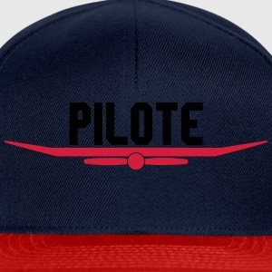Pilote hélice aile Tee shirts - Casquette snapback