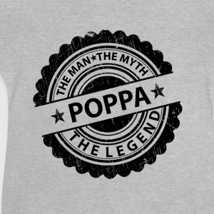 Poppa-The Man The Myth The Legend Shirts - Baby T-Shirt