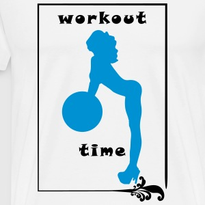 Workout Girl - Männer Premium T-Shirt