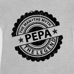 Pepa-The Man The Myth The Legend Shirts - Baby T-Shirt