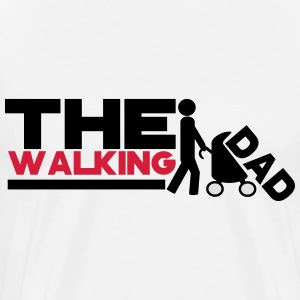 the walking dad DESIGN Manches longues - T-shirt Premium Homme