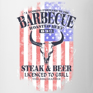 Barbecue - BBQ - USA Buffalo T-Shirts - Mug