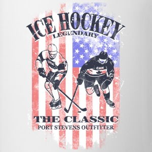 Icehockey  - USA Flag Tops - Mug