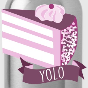 cake YOLO T-Shirts - Water Bottle