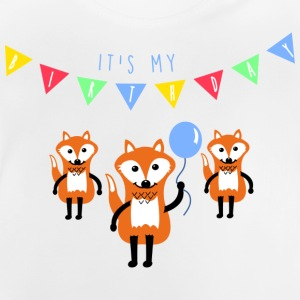 Wit birthday_fox Shirts - Baby T-shirt