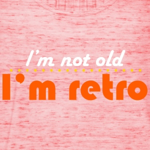 not old but retro T-Shirts - Women's Tank Top by Bella
