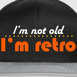 Edelbraun not old but retro T-Shirts - Snapback Cap