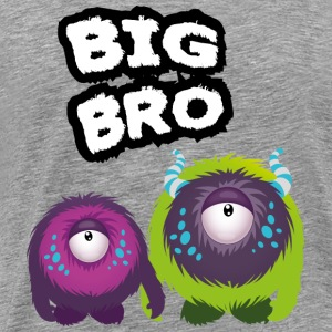 Big Bro Monster Pullover & Hoodies - Männer Premium T-Shirt
