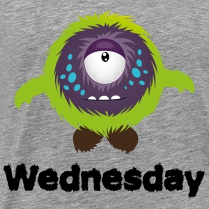 Wednesday Monster Tops - Men's Premium T-Shirt