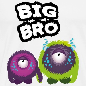 Big Bro Monster Langarmshirts - Männer Premium T-Shirt