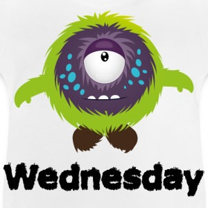 Woensdag Monster Shirts - Baby T-shirt