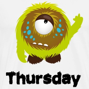 Thursday Monster Long Sleeve Shirts - Men's Premium T-Shirt
